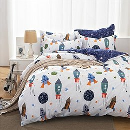 $enCountryForm.capitalKeyWord Australia - WINLIFE Boys Galaxy Space Bedding Set Kids Bedding Set Duvet Cover Full Queen Size