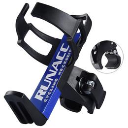 Toptan satış RUNACC Bisiklet Su Şişesi Tutucu Bisiklet Su Şişesi Kafes Bisiklet Tutucu Bisiklet Kupası Bisiklet Aksesuarları için İçecek # 25733