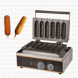 $enCountryForm.capitalKeyWord Australia - NEW French Muffin Machine Hot Dog Lolly Wafer Waffle Makers Kitchen Machine Commercial Non-Stick Cooking Surface