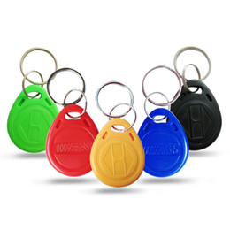 plastic key cards 2019 - Read Only Property card 125khz 10PCS 2019 New Arrival TK4100 5 Colors Girls Community access card Party Graceful Small K