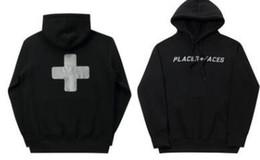 Standard p online shopping - Oversize P Face Black Hoodies Men Fashion Cross Printed Hooded Sweatshirts Pullovers