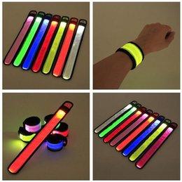 $enCountryForm.capitalKeyWord UK - LED patted light wrist band Outdoor activity night running concert luminous fluorescent bracelet