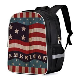Wholesale American Flag Tactical Backpacks Computer Backpack Computer Bag School Bags Sports Bags Backpacks Daypack Handbag Night Light
