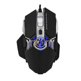 Discount mechanical desktop - G800 Usb Wired Gaming Mouse Ergonomic Mechanical Mice 9 Buttons Macro Programmable Desktop Laptop Pc Gamer