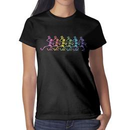 $enCountryForm.capitalKeyWord Australia - Grateful dead dancing skeleton Women's Top Cute Outdoor Funny T Shirt Design O Neck Shirts Womans T Shirt Dress