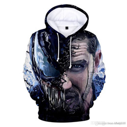 $enCountryForm.capitalKeyWord UK - Venom men and women wearing a hat sweater Europe and the United States 3d hooded hooded jacket explosion models anime clothes