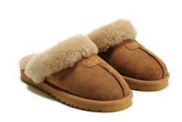$enCountryForm.capitalKeyWord Australia - 1High quality Warm cotton slippers Men And Womens slippers Short Boots Women's boots Snow boots Designer Indoor cotton slippers Leather boot