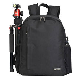 Wholesale Multi functional DSLR Backpack Outdoor Digital Camera Black Travel Can be used for camera Bag Zipper