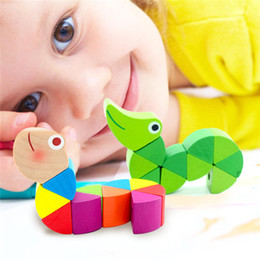 $enCountryForm.capitalKeyWord Australia - Wooden Worm Puzzles Kids Learning Educational Didactic Baby Development Toys Baby Fingers Game Puzzles Kids Development Toys