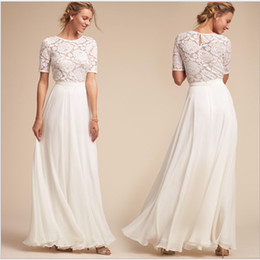 $enCountryForm.capitalKeyWord Australia - In Stock V Neck Beading Evening Dress Back Lace Up Evening Dress With Slit Evening Gown 2019 Long formal Prom Dress Robe De Soiree