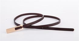 Travel Belts Australia - wholesale Fashion leather woman belt travel casual luxury belt ladies dress thin belts free shipping