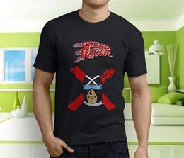 Speed S Australia - New Popular Racer X Speed Racer Anime GoGoGo Men's Black T-Shirt Size S-3XLFunny free shipping Unisex Casual