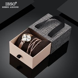 $enCountryForm.capitalKeyWord Australia - IBSO 2019 New Arrival Women Luxury Watch With Bracelet Fashion Female Crystal Bangle Watch Set Valentine's Day Gift For Ladies