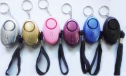 Persönliche Alarme für Frauen Anti-Wolf-Gerät LED-Sicherheitsalarme Ältere Kinder Anti-Lost-Gerät Auto Alarm