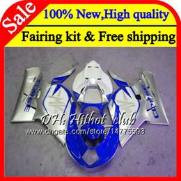 Fairings For Mv Agusta Australia - Body For MV Agusta F4 05 06 R312 750S 1000 R 750 1000CC 13HT13 1000R Blue silvery 312 1078 1+1 MA MV F4 2005 2006 05 06 Fairing Bodywork