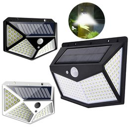 Wholesale 212 LED Solar Motion Sensor Wall Light Outdoor Waterproof Yard Security Lamp LED Solar Light for Outdoor Garden Street Patio