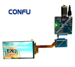 $enCountryForm.capitalKeyWord NZ - Confu Hdmi to Mipi driver board 5.5 inch 2K LCD 2560x1440 TFT lcd display module LS055R1SC01 for VR AR 3D Printer China