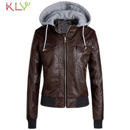 $enCountryForm.capitalKeyWord Australia - Women Jacket Leather Hoodie Casual Zipper Long Sleeve Winter Warm Overcoat 2019 Plus Size Casaco Feminino Coats for Girls 19Jl11