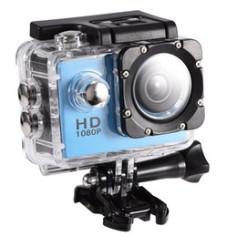 Outdoor Professional Sporting Camcorder Australia - Action Camera 720P Waterproof 30m Outdoor Sports Video DV Camera 1080P Full HD LCD Mini Camcorder with 900mAh Batteries