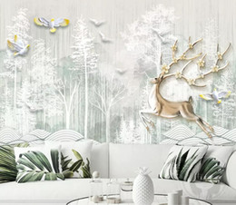 $enCountryForm.capitalKeyWord Australia - 3d wallpaper custom mural silk wall sticker 3 d TV setting wall fashion Small fresh three-dimensional relie photo 3d wall murals wallpaper