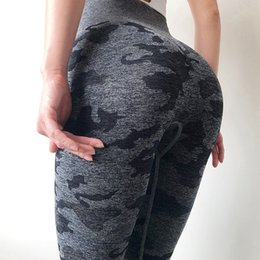 $enCountryForm.capitalKeyWord Australia - Camo Seamless Yoga Pants High Waist Woman Sports Fitness Leggings Sexy Booty Gym Athletic Leggings Slim Stretchy Sport Pants