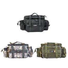 Supply Leo Multifunctional Fishing Gear Bag Single-shoulder Photography Outdoor Bag Security & Protection