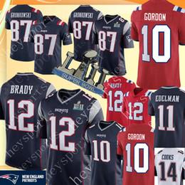 Brady footBall jerseys online shopping - New Patriots Tom Brady Josh Gordon  Jersey Mens Rob Gronkowski 76c7a24db