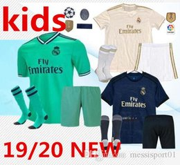 7032fbeff 20119 20 Real Madrid soccer jersey KIDS kits with socks 19 20 Football  shirt Asensio SERGIO MODRIC RAMOS MARCELO BALE ISCO child Soccer Sets