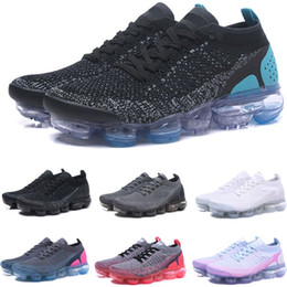 Venta al por mayor de OFERTA 2019 Cojín BE TRUE Triple Negro Blanco Rosa Hombre Run Utilitario Diseñador Zapatillas de running Mujer Fly line Zapatillas deportivas Zapatillas de deporte