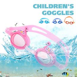 $enCountryForm.capitalKeyWord Australia - Kids Carton Glasses Swimming Glass Beach Baby Glass Useful Swan Super-Cute Big Eyes Sun