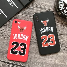 Fit bull online shopping - YunRT Chicago bull sports soft silicon cover case for iphone plus s se S s plus plus X red phone cases capa