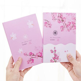 $enCountryForm.capitalKeyWord Australia - cute pink sakura notebooks for students diary printed cherry blossoms planner note books notepads stationery school office supply