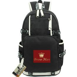 $enCountryForm.capitalKeyWord Australia - Bruno Mars day pack Peter Gene Hernandez daypack Nice music schoolbag Hot packsack Laptop rucksack Sport school bag Out door backpack