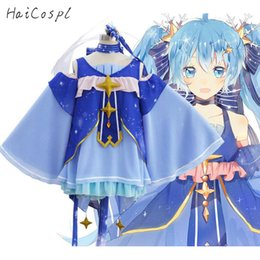 Costumes & Accessories 2019 Snow Miku Hatsune Star Princess Cosplay Bear And Crown Cosplay Costume Accessories For Women Girl