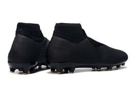 ec3411b22 Best Quality Original Phantom VSN Shadow Elite DF FG AG Football Boots  Black Gold Soccer Shoes Mens Outdoor Soccer Cleats