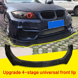 lips spoiler Canada - New Adjustable Universal Car Front Bumper Splitter Lip Body Kit Spoiler Diffuser Lip For BMW For Benz,Audi ,VW,Subaru,Honda