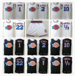 Wholesale halloween jersey for sale - Group buy Stitched Space Jam Tune Squad Jerseys Michael Bugs Twetty Murray Lola Taz D Duck SHORTS halloween shirts black Road Runner SPORT