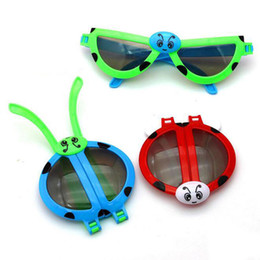 $enCountryForm.capitalKeyWord Australia - Kids Birthday Party Gift Deformable Ladybug Glasses for Girl Boy Party Supply Baby Shower Favor Present Giveaway ZC0836
