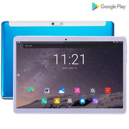 Kids Tablet Pcs Inch NZ - 2019 New 3G 4G tablet 10.1 inch android tablet 10 Drawing pc 10 for kids gift GPS 7 8 9