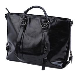 Ladies Briefcase Handbags Australia - New Vintage Ladies Handbag Pu Leather Bags Office Tote Briefcase Female Shoulder Messenger Bags For Women 2019 Travel Bag