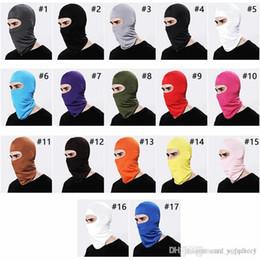 $enCountryForm.capitalKeyWord NZ - 17 Colors Lycra Balaclava Face Mask Adjustable Windproof Ski Mask Headwear Neck Warmer for Skiing Cycling Hiking and Outdoor Sports