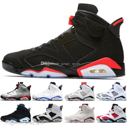 2b5283ab370c31 Cheap 2019 Infrared Bred 6 6s Mens Basketball Shoes 3M Reflective Bugs  Bunny Tinker Hatfield UNC Oreo Men Sports Sneakers Designer Trainers