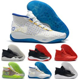 shoes new zoom kd Australia - 2019 New Zoom Kd 12 EP Outdoor Shoes The Day One 12TH Edition Sports Training Sneakers US 7-12