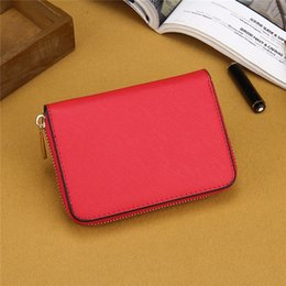 $enCountryForm.capitalKeyWord Australia - Hot 7 colors lady small wallets fashion women casual wallet famous single zipper ladies wallets female pu leather purse