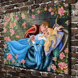 $enCountryForm.capitalKeyWord NZ - Sleeping Beauty,Home Decor HD Printed Modern Art Painting on Canvas (Unframed Framed)