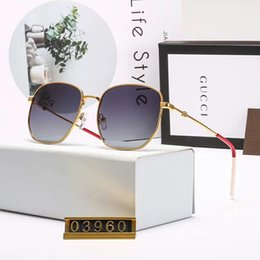 Box Brand Glasses NZ - Designer Sunglasses Luxury Sunglasses Brand Sunglass Fashion Summer Mens Womens Glass Uv400 Little Bees Style With Box Very High Quality