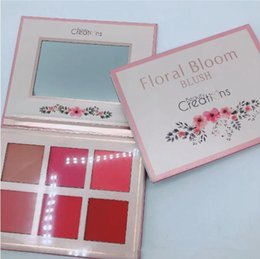 Satin Types NZ - neweset makeup Beauty Creations Makeup Palette Eye Floral Bloom 6 color Highlighter Contour blush 12Color Eye Shadow palette 3 Types