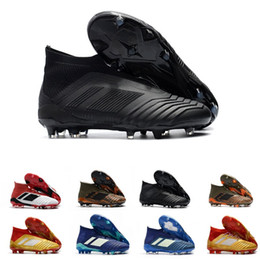 dd1254487c1 2019 Cheap Wholesale ACE Predator 18.1 FG NEW Men s Soccer Shoe boots cheap  Performance Mens ace soccer cleats football shoes