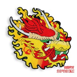 $enCountryForm.capitalKeyWord Australia - cool Chinese traditional dragon patches,high quality embroidery emblem dragon badges,dragon applique diy patches for clothing,GJ0468