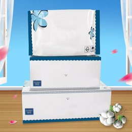 used towels wholesale NZ - 20 40 60 80 PCS Towel Disposable Face Cloths Towel Cotton Wash Infection Control Supersoft Wet And Dry Dual-Use Soft